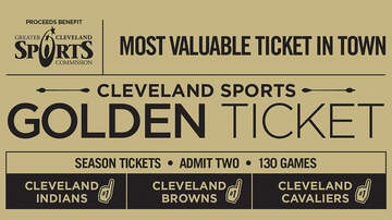 None - Win Browns, Cavs, Indians Season Tickets Purchase A Golden Ticket