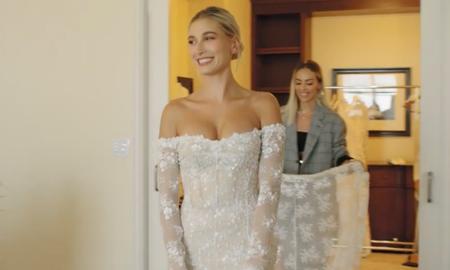 Trending - 'Vogue' Shares Inside Look At Hailey Baldwin's Final Wedding Dress Fitting