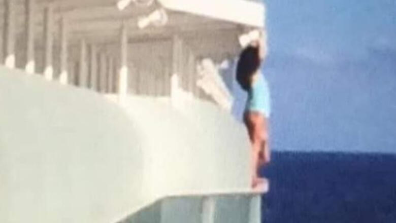 Woman Takes Selfie Hanging Over Cruise Ship Railing, Gets Lifetime Ban