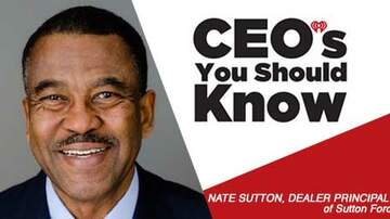 CEO's You Should Know - Nate Sutton; Dealer Principal of Sutton Ford