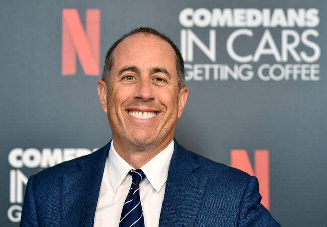 Jerry Seinfeld to Perform Three Dates at Agua Caliente