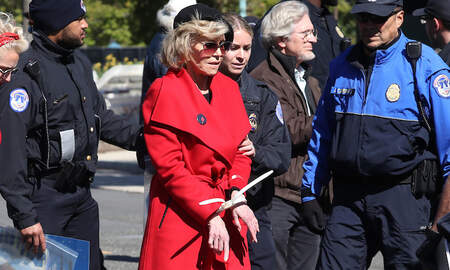 Entertainment News - Jane Fonda Arrested Again During Climate Change Protest In D.C.