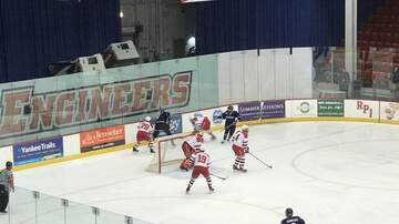 Hockey - UConn Hockey gets even with RPI with a 5-2 win