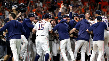None - Astros Win American League, Advance To World Series