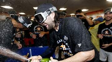 The A-Team - Watch Videos of the Astros Clubhouse Celebration