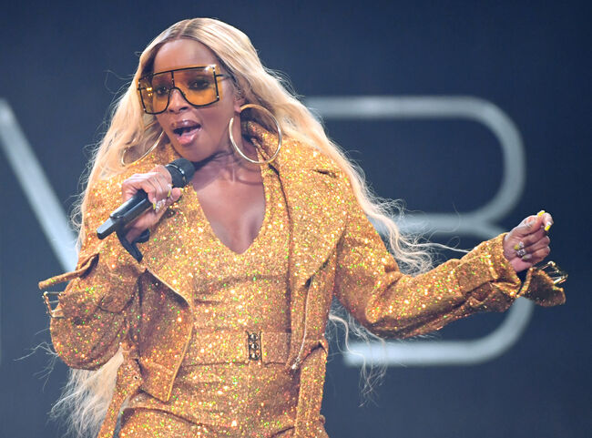 Mary J. Blige In Concert - Las Vegas, NV