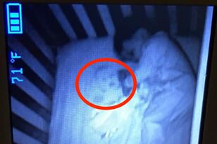 Mistaken Mom Is Sure She's Seeing A Ghost In Baby's Crib