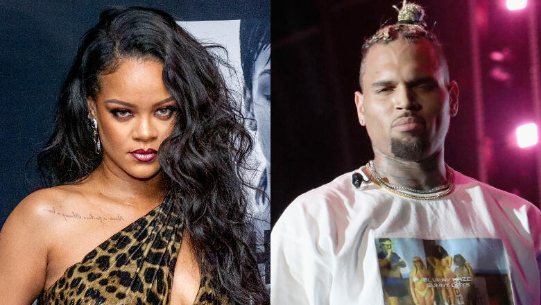 Rihanna Shared A Chris Brown Song On Instagram & Fans Are Pissed
