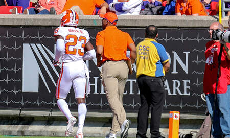 Sports Top Stories - Coach Makes Clemson Player Take Bus Home After Throwing Punch