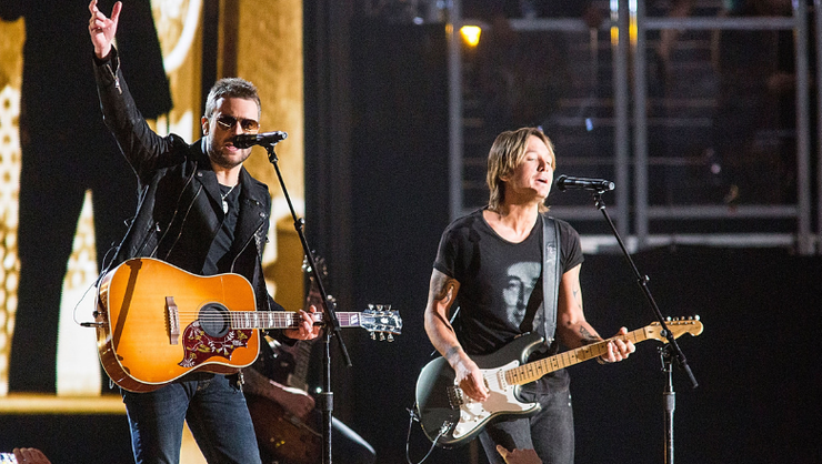 Keith Urban And Eric Church Team Up For New Release Of 'We Were'