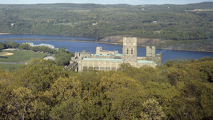 Aerial View Of West Point