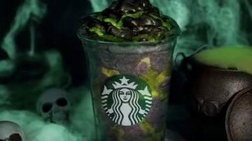 Mountain Man Jay - Starbucks New Phantom Frappuccino Is Covered In Green Slime