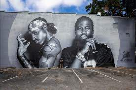 DJ MK - Atlanta Just Got A Massive New Outkast Mural!