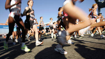 LeeAnn and Wazz - Man Saved By Runner Whose Profound Name Was On Man's Runners Bib