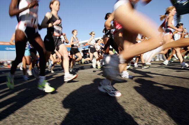 Thousands Run In New York Marathon
