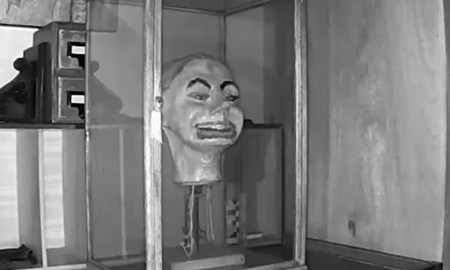 Weird News - Haunted Ventriloquist Doll Head Seen Blinking, Moving Lips In Creepy Video