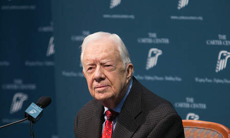 Political Junkie - Jimmy Carter Fractures Pelvis in Fall at Home