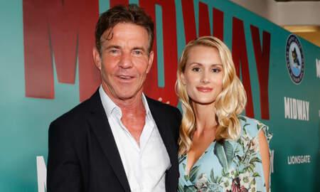 Entertainment News - Dennis Quaid's 'Parent Trap' Co-Star Nailed Her Joke About His Engagement