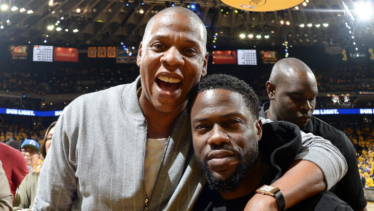 Kevin Hart Spotted With Jay- Z For First Time Since Near-Fatal Crash | iHeartRadio
