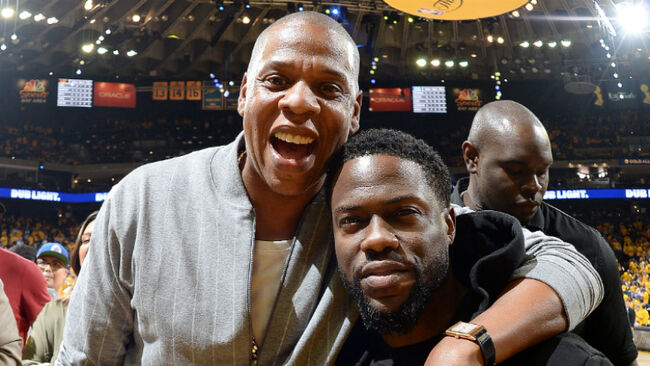 Kevin Hart Spotted With Jay- Z For First Time Since Near-Fatal Crash