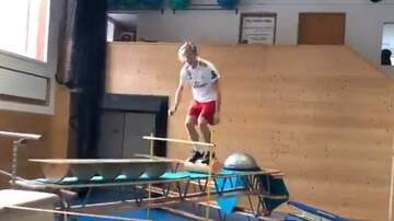 Steve Powers - Andri Ragettli shows off his obstacle course skills & only took 232 tries