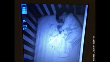 Coast to Coast AM with George Noory - Mom Spots Spooky 'Ghost Baby' on Monitor Next to Sleeping Son