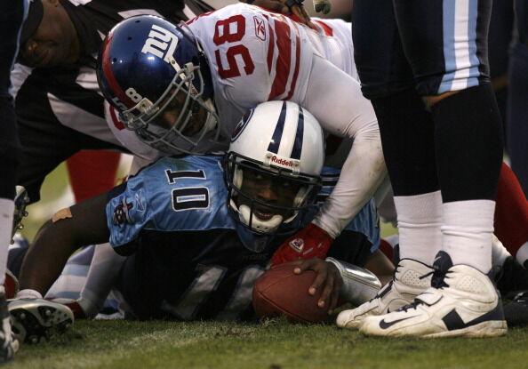 New York Giants vs Tennessee Titans - November 26, 2006