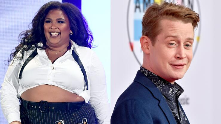 Watch Lizzo & Macaulay Culkin Have A Dance-Off At Her LA Concert | iHeartRadio