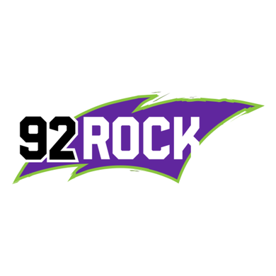 92 Rock logo