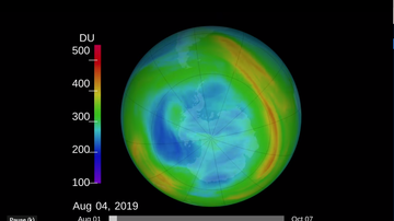 National News - Ozone Hole Over South Pole Shrinks to Smallest Size Ever Recorded NASA Says