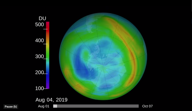 Ozone hole near South Pole shrinks to smallest size ever seen