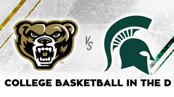 None - Michigan State vs Oakland University College Basketball