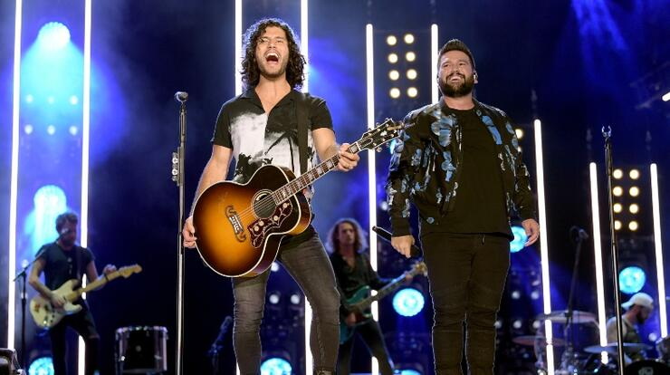 Dan + Shay Were Left Emotional After First Performance Of '10,000 Hours' | iHeartRadio