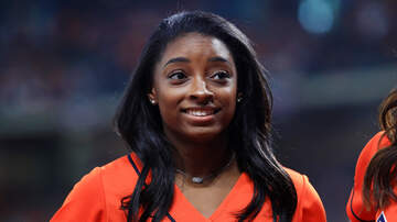 Ashley Nics - Simone Biles' Has The Best First Pitch Ever!