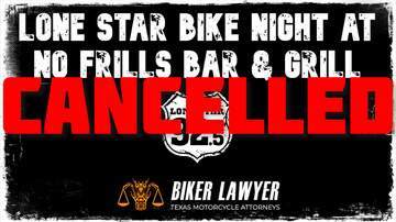 image for CANCELLED - Lone Star Bike Night at No Frills Bar & Grill 10.24