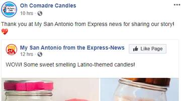 Bree - Oh Comadre Candles Just Released A Line of Latino Themed Candles