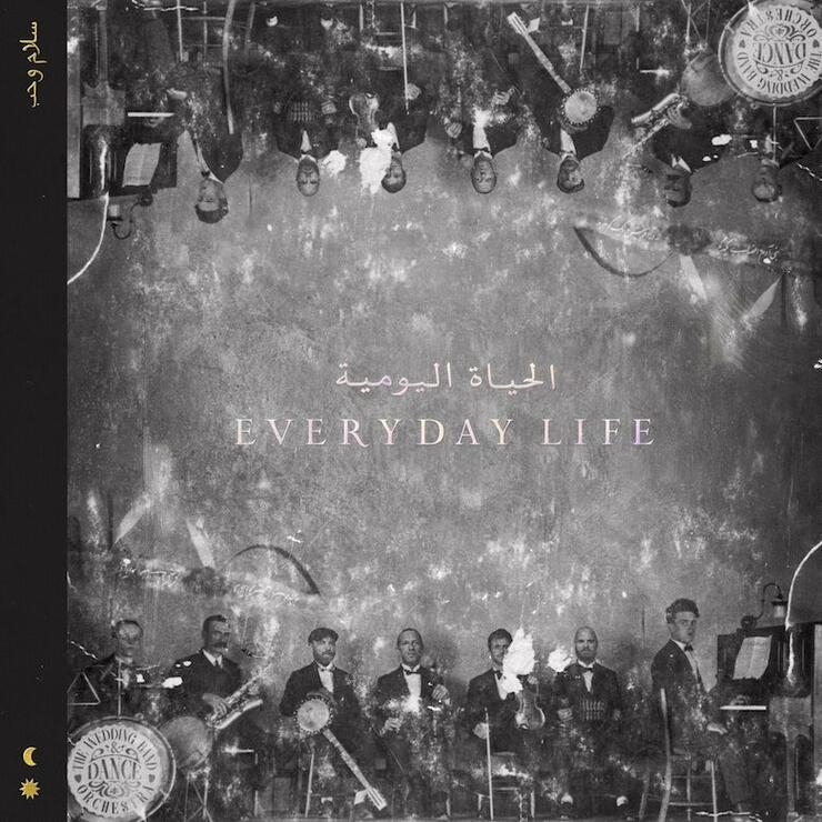 Coldplay - 'Everyday Life' Album Cover Art