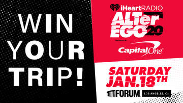 image for Listen to win a VIP trip to our iHeartRadio ALTer EGO!