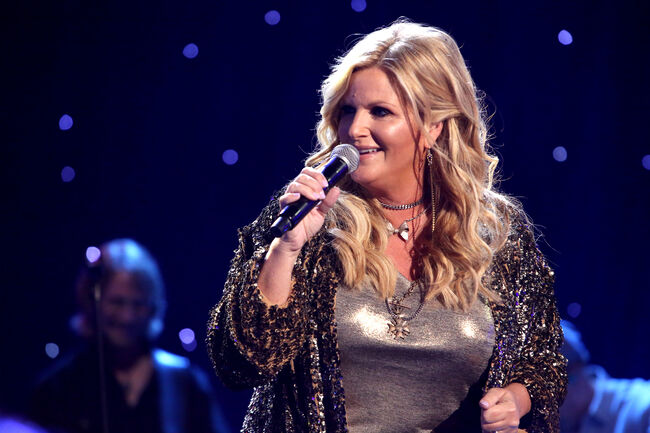 iHeartCountry Album Release Party with Trisha Yearwood at the iHeartRadio Theater Los Angeles on September 5, 2019