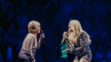 Jessica - WATCH: Carrie Underwood's Mom Sing The Champion With Her