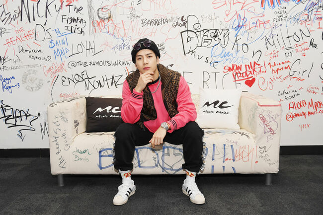 Jackson Wang Visits Music Choice