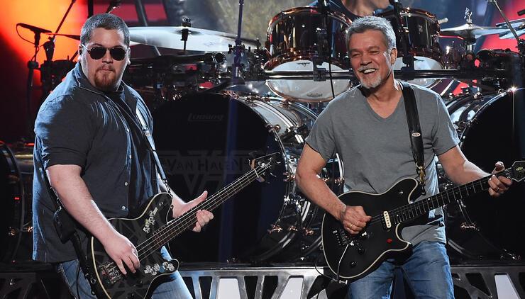 Wolfgang Van Halen Posts Happy Family Photo With Eddie ...