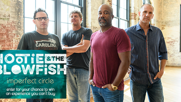 """Contest Rules - Hootie & the Blowfish """"Imperfect Circle"""" Nashville Flyaway Rules"""