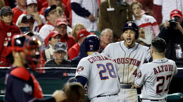 None - Astros Win Game 3