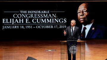 Sonya Blakey - Barack Obama speaks at Elijah Cummings' funeral