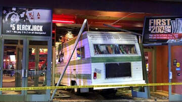 Weird News - Woman Drives Motorhome Into Casino After Getting Kicked Out
