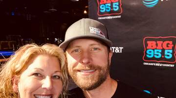 Lisa Dent - Check Out What Happened At The BIG 95.5 Dierks Show!