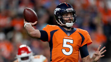 Mike Rice - Broncos QB Joe Flacco Out With Neck Injury