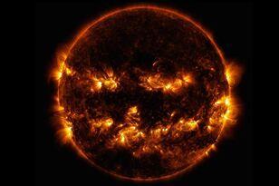 NASA Shares Spooky Sun Photo