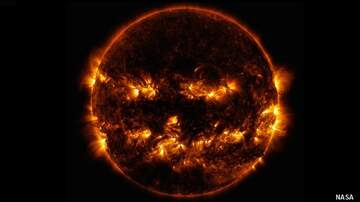 Coast to Coast AM with George Noory - NASA Shares Spooky Sun Photo